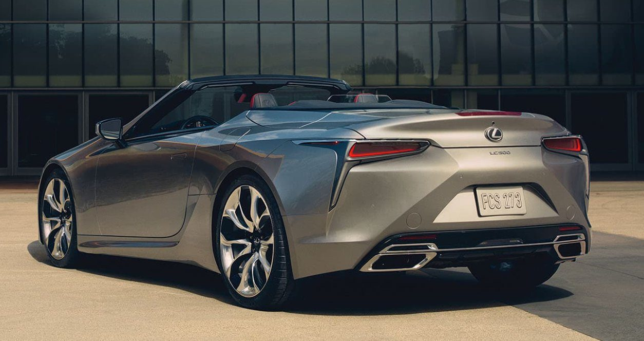 All new Lexus LC 500 and 500h